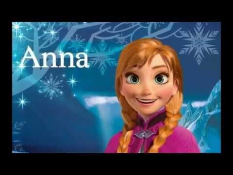 les personnage de la reine des neiges
