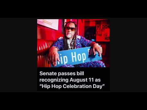 August 11th Hip Hop Celebration Day Passed By The Senate