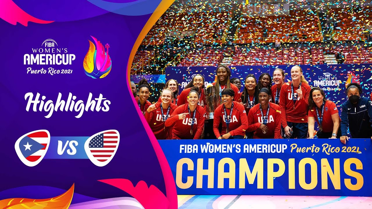 Puerto Rico - USA | FINAL | Highlights | FIBA Women's AmeriCup 2021