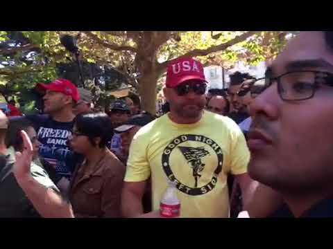 Indian Trump Supporter - Berkeley/ Milo Protest (Part