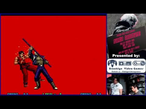 KOF2002 @ BROOKLYN VIDEO GAMES WITH TALIBANKOF , CIMUS.
