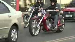 motos chopper (TV Globo Auto Esporte)