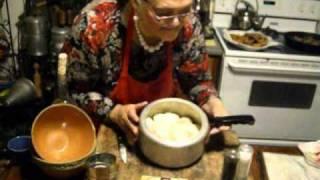 "Granny Mae's Kitchen ""stewed Down Tators"""
