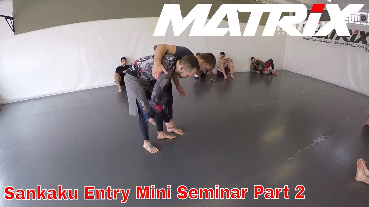 Inside Sankaku Entry´s from Butterfly Guard and Standup Mini Seminar Part 2