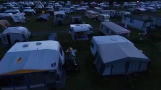 Katwijk Camping Zuidduinen Drohne Test 25.07.2017