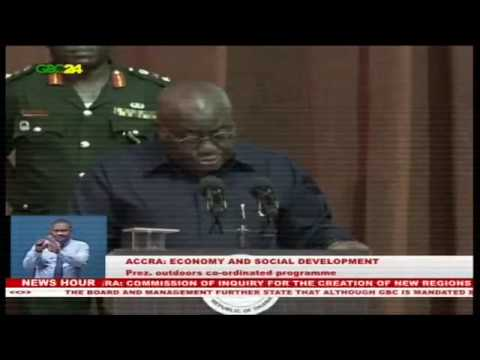 President Akuffo Addo launches  seven-year development plan