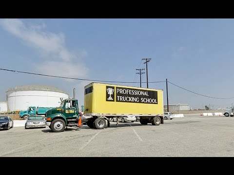 Professional Trucking School Long Beach Ca Truck Driving Schools