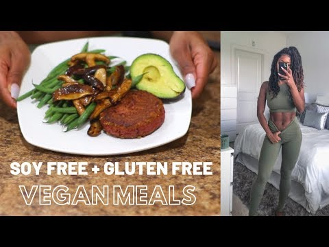 What I Eat In A Day| Healthy Realistic: Soy Free + Gluten Free Vegan Meals