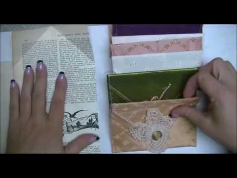 Fabric Envelope Tutorial and Journal Idea Share