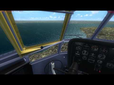 A2A B377 Stratocruiser Tutorial 4 Decent + Approach + Landing