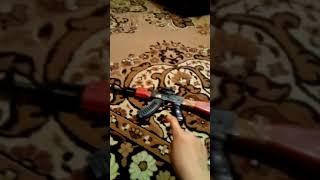 Іграшковий Автомат калашникова з прицілом ак 47