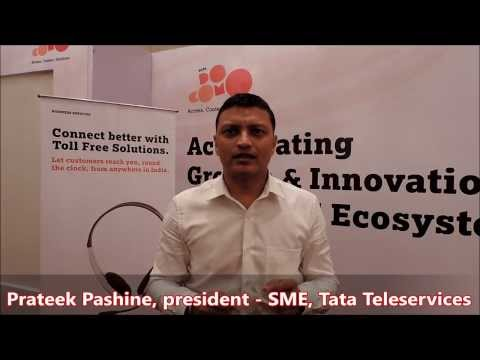 Interview: Tata Teleservices president - SME Prateek Pashine -by TelecomLead