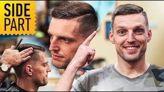 Мужская стрижка SIDE PART (Сайд Парт) Как говорить с парикмахером? // Мужские прически