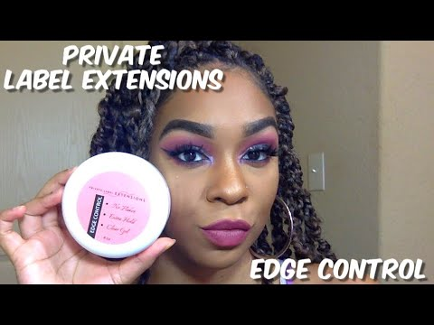 PRIVATE LABEL EXTENSIONS EDGE CONTROL REVIEW | x_incredibleL