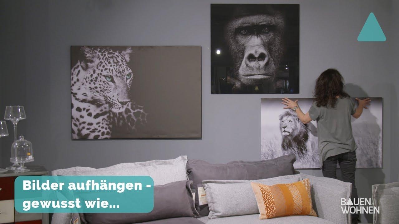 Dekotipp Bilder Richtig Aufhängen Schwarz Weiß Fotos Im
