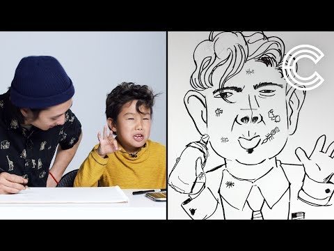 Maddox Describes Trump to an Illustrator | Kids Describe | Cut
