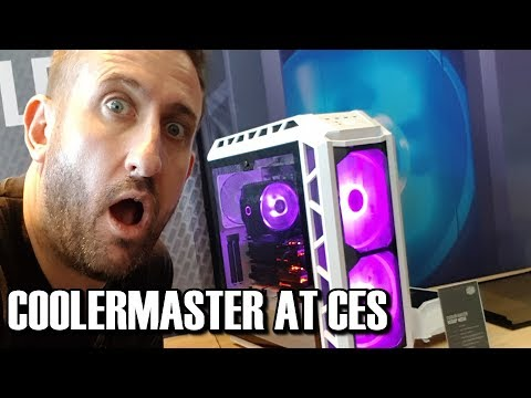 Coolermaster at CES 2018