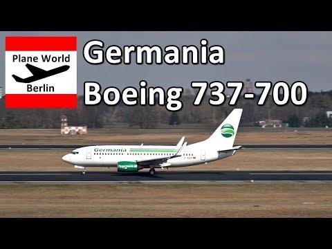 Germania Boeing 737-700 *D-AGEP* In Berlin Tegel Airport
