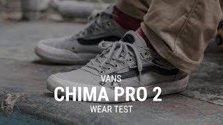 Vans Chima Pro 2 Skate Shoes Wear Test