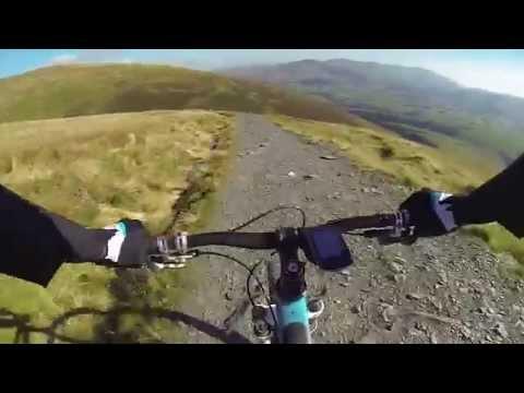 Lake District, Keswick. Riding Skiddaw!