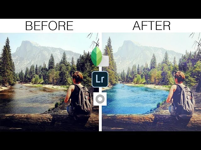 Photo editing for instagram in mobile | Snapseed | Lightroom | VSCOcam apps only!