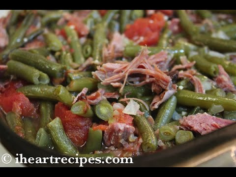 Southern Green Beans Recipe Thanksgiving Side Dish I