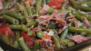 Southern Green Beans Recipe -Thanksgiving Side Dish - I Heart Recipes