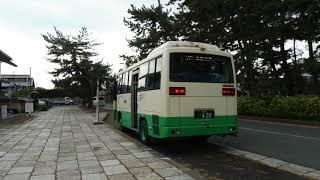 JR法隆寺駅から法隆寺までの奈良交通バス thumbnail