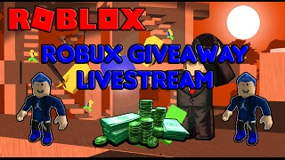 [GIVING A TON OF ROBUX RIGHT NOW!!] FREE ROBUX GIVEAWAY LIVESTREAM [ROBLOX] [FREE ROBUX!]