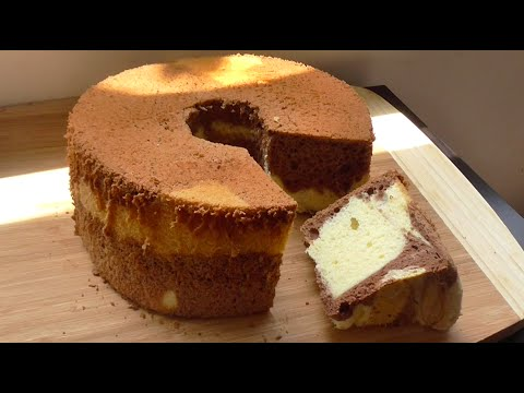 How To Make Marble Chiffon Cake