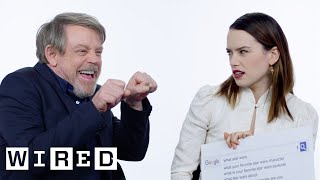 The Last Jedi Cast Answers the Web's Most Searched Questions | WIRED Free HD Video