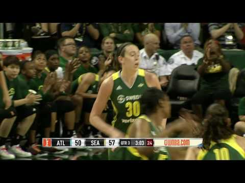 Breanna Stewart Drops Career-High 38 Points vs. Atlanta