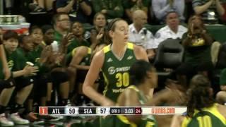 Breanna Stewart Drops Career-High 38 Points vs. Atlanta