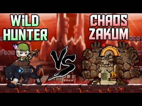 [MapleStory] Wild Hunter vs. Revamped Chaos Zakum!