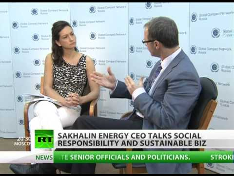 Sakhalin Energy CEO calls for social responsibility of big biz