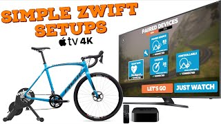 Simple Zwift Setups: Direct Drive Smart Trainer w/ AppleTV HOW-TO
