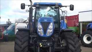 gebr. Traktor New Holland T6090