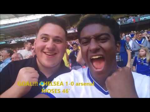 CHELSEA 1-1 ARSENAL (1-4 PENS) COMMUNITY SHIELD || MATCHDAYS WITH LEWIS