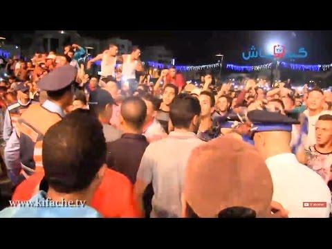 مهرجان الحسيمة.. مسلم يهيج الجمهور والبوليس يتدخل
