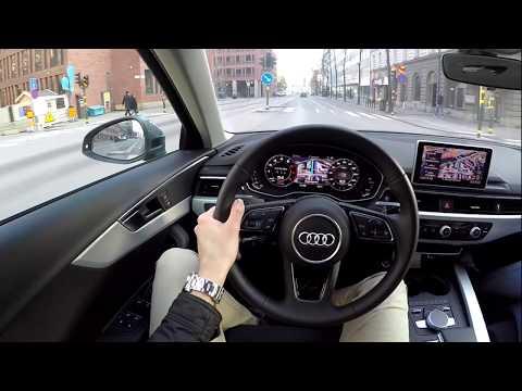 2019 Audi A4 Quattro 60 FPS POV drive test drive acceleration and crazy bike bmw s1000rr wheelie