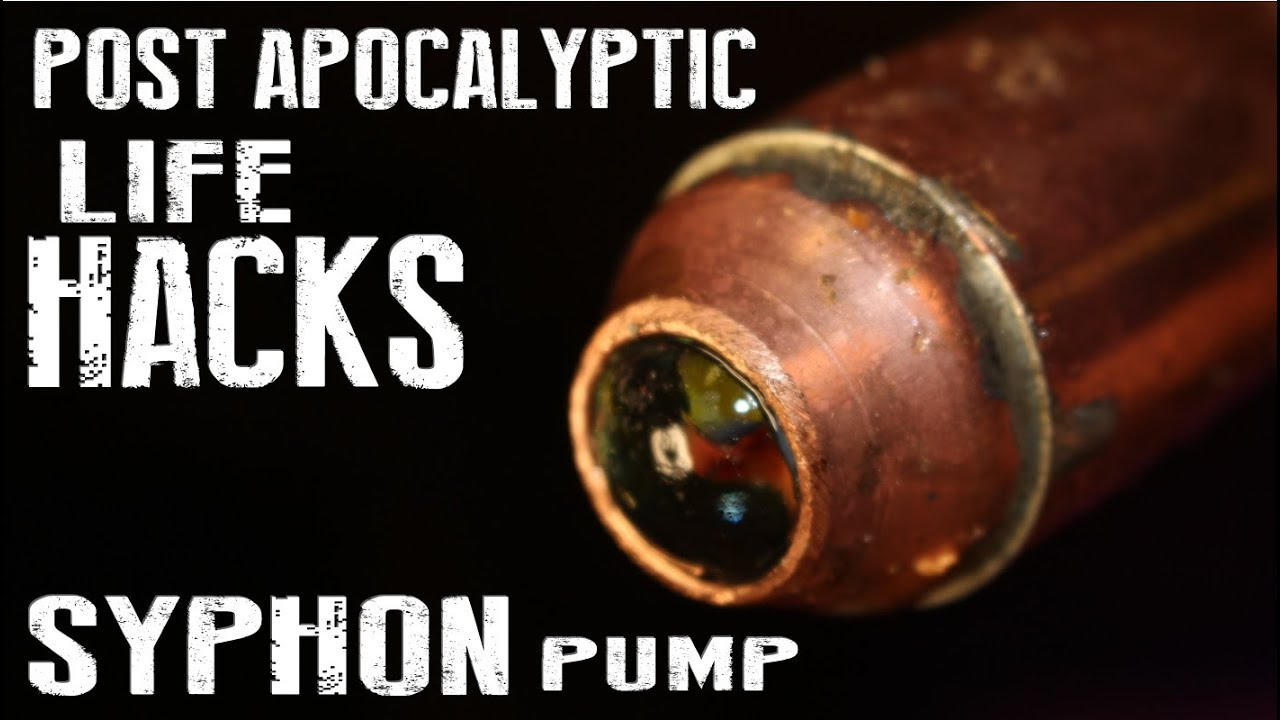 How To Make A Siphon Pump (Shaker Siphon) - Post ...