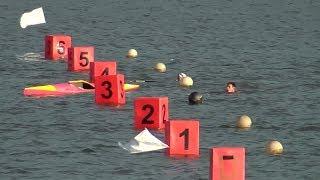 Гребля на байдарках и каноэ. Мужской финал K-1 500m. Лозовый-2012.