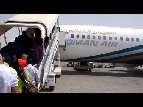 Muscat To dubai international airport in full hd