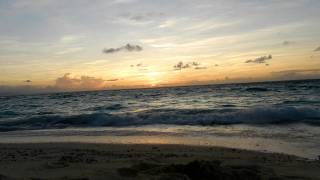 FROM MAQAI BEACH TO NANUKU LEVU, FIJI  SUNSET ON MAY 20,2011