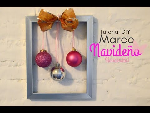 Marco Navideño Tutorial DIY