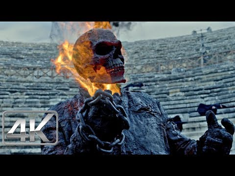 Johnny Blaze Recupera Sus Poderes | LATINO (4k-HD) | Ghost Rider: Espíritu de Venganza