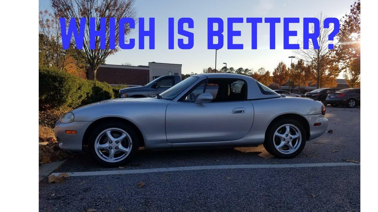 Mazda Miata Hardtop Vs Soft Top
