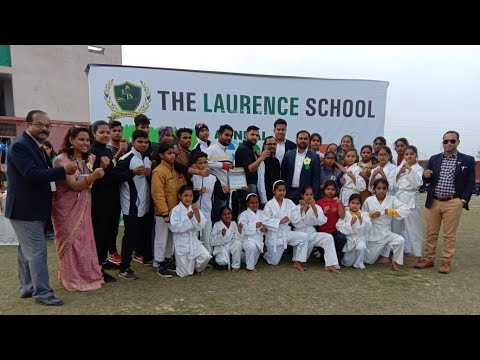 The Laurence school Annual sports day 17feb 2019 karate demo