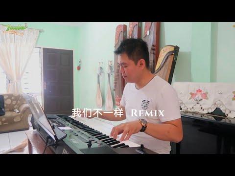 我们不一样 | Wo Men Bu Yi Yang Guzheng Remix version feats keyboard (Rudy)