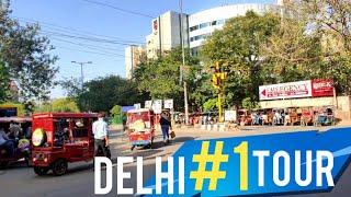 Delhi Auto Tour - Shahrukh Khan School, Karol Bagh, Gole Market, Pusa Road - Best places in Delhi